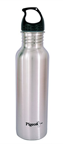 Pigeon Stainless Steel Water Bottle, 750ml, Silver
