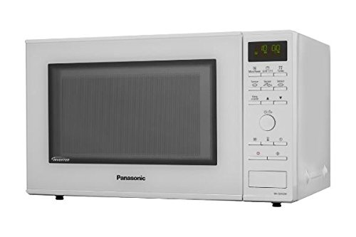 Panasonic NN-GD452WEPG Forno a Microonde, 31 l, Inverter Grill, 1000 W, Bianco