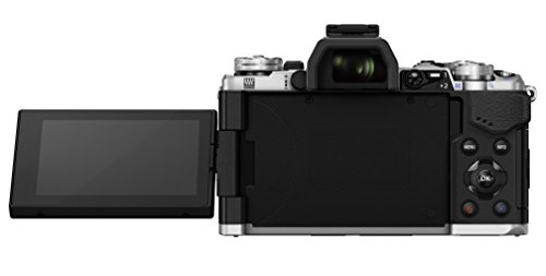 "Olympus E-M5 MarkII - Cámara EVIL de 16.1 Mp (pantalla táctil 3"", estabilizador óptico, grabación de vídeo Full HD), color plata - Kit con objetivo M.Zuiko EZ 14-150 mm f4 (importado)"