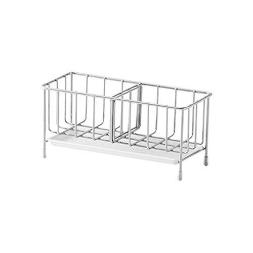 NNDQ Organizzatore Moderno per contenitori per lavandino da Cucina in Metallo, Contenitore per...