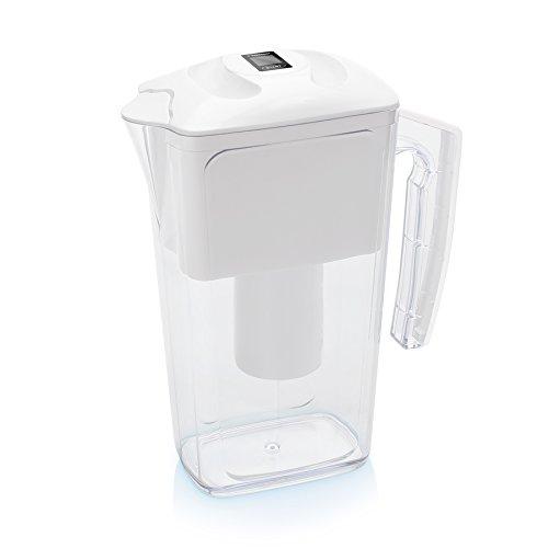 Wessper AquaPro 2.5L water filter jug with cartridges bundle (white) (2.5 months of Wessper AquaPro) (1 cartridge)