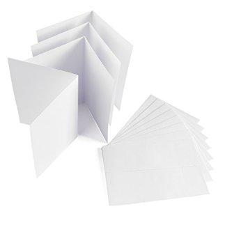 Jumbo-Set-50-x-Faltkarten-DIN-B6-wei-50-x-Umschlge-blanko