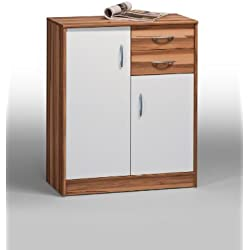 XANA-Möbel Kommode Sideboard Vertiko Anrichte mit Schubladen Baltimore-Nussbaum