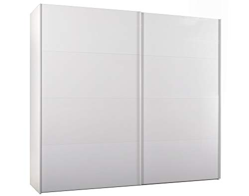 COMPOSAD Armadio Scorrevole Elementi Bianco Ruvido L250 H220 cm