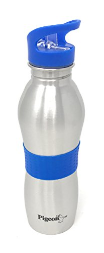Pigeon Playboy Stainless Steel Sport Water Bottle, 700ml, Blue