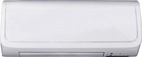 DOMAIR EU1GIO - Radiateur céramique mural - 200 Watts - Allure de chauffe 1000/2000 Watts - Télécommande - Thermostat électronique - IP 22 - Blanc