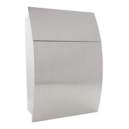 Profirst Mail PM 130 Design-Briefkasten aus Edelstahl