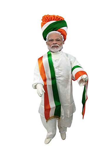 Fancydresswale Republic Day/Independence Day Tricolor/ Tricolour/Tiranga Pagdi & Stole Combo for Kids