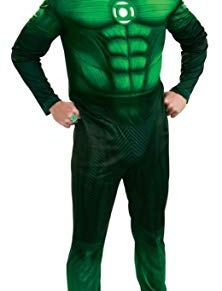 Rubies - Disfraz Linterna verde de hombre a partir de 18 años (889986L)