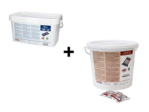RATIONAL 100 Pezzi pulitore TABS + 150 Pezzi Care-TABS F. SelfCookingCenter SCC...