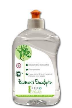 ALLEGRO NATURA - Detergente per Pavimenti all' Eucalipto - Naturale per la Pulizia efficace e...
