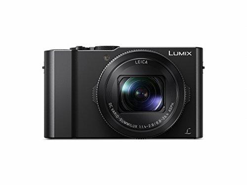 Panasonic DMC-LX15EG-K Lumix LX15 Fotocamera Digitale Compatta, Wi-Fi, Nero