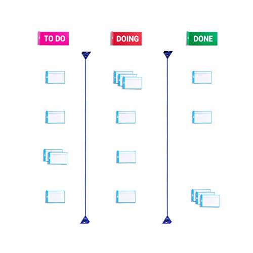 Scrum bordo per agile scrum kanban - carta di lavoro magnetico - home