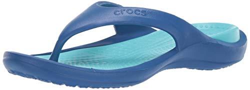 Crocs Athens, Infradito Unisex-Adulto, Blu (Blue Jean/Pool 4io), 42/43 EU