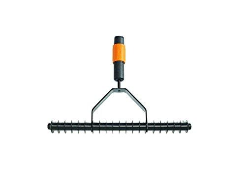Fiskars Rastrillo aireador, Largo: 37 cm, Negro/Naranja, 1000655