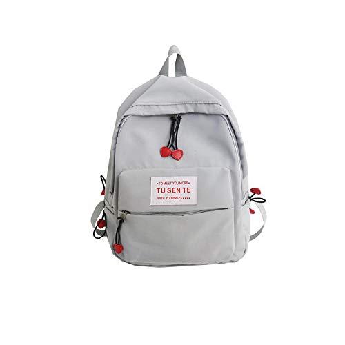 LTTGG Borse a spalla da donna Zaino campus wind bow tinta unita carino borsa da viaggio 40x27x12cm @...