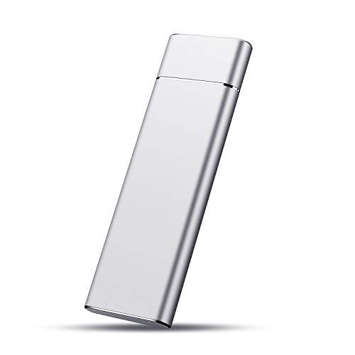 Hard Disk 2 TB Esterno, Hard Disk Esterno USB 3.1 Type-C per PC, Mac, Xbox, PS4, Desktop, Laptop,...