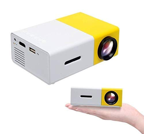 JMD LED Corded CINEMA FULL HD Portable Projector FOR LED TV DVD PC ULTRA CLEAR DISPLAY USB/HDMI/VGA/MEMORY SD CARD