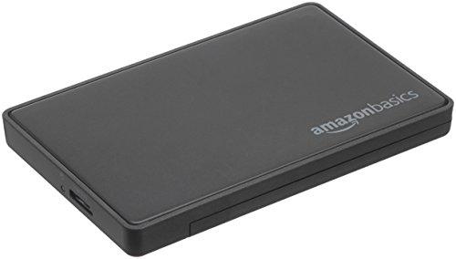 AmazonBasics - Alloggiamento per hard disk SATA da 2,5 pollici (6,35 cm) - USB 3.0