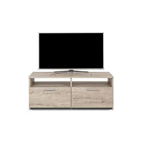 Mobili Fiver Rachele Mobile Porta TV, Legno, Quercia, 112x42x45 cm