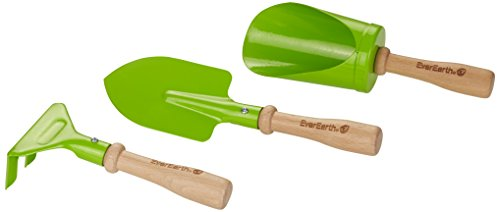 EverEarth - Kit de jardinería de 3 Piezas (Herramientas de Mano) (EE33644)