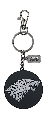 Llavero/Clip de Bolso Game of Thrones - Logotipo de la Casa Stark