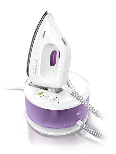Braun carestyle Compact is2044vi–Centro di stiratura, 2200W, suola 3d Eloxal Plus, vapore...