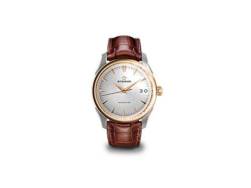Eterna 1948 Legacy Big Date Automatik Uhr, Eterna 3030, 41,5 mm, 18Kt Roségold - 2