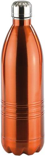 Rosenstein & Söhne Thermosflasche: Doppelwandige Vakuum-Isolierflasche aus Edelstahl, 1,0 Liter (Thermoflaschen)