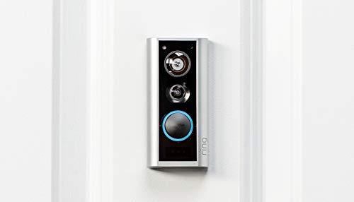 31Jgyr%2BgkdL [Bon Plan Ring] Ring Door View Cam   Remplacez votre judas par une nouvelle sonnette vidéo HD 1080p équipée d'un système audio bidirectionnel   Pour portes d'une épaisseur de 34mm à 55mm.