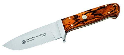 Puma Messer  IP Elk Hunter Eiche, Stahl 440 C, Eichenholz, Lederscheide 304510