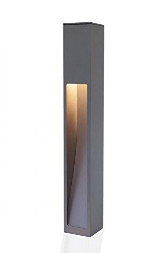 Wegeleuchte Aussenstehleuchte Kaan 75cm dunkelgrau E27 10654