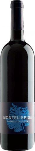 Montelispida - Vino rosso - Merlot - Castello di Lispida - Colli Euganei - 0.75l - agricoltura naturale - Triple A - Cartone 6 bottiglie