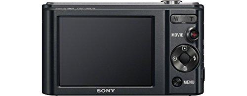 """Sony DSC-W810 - Cámara compacta de 20.1 Mp (pantalla de 2.7"""", zoom óptico 6x, estabilizador digital, GPS), negro"""