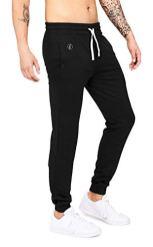 Banqert-Herren-Jogging-Hose-Jazzy-Joggs-Lange-Sporthose-fr-Mnner-aus-Active-Brushed-Cotton-Bequeme-Sweatpants-fr-Freizeit-und-Fitness-in-Schwarz-Black-M