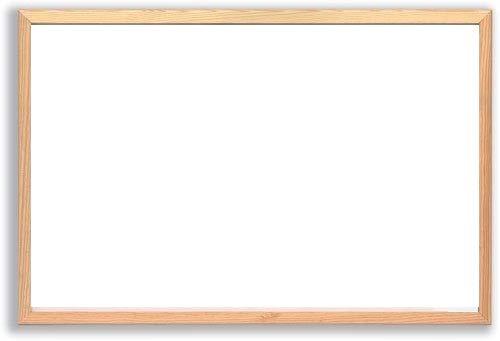 LAVAGNA MAGNETICA BIANCA BACHECA cornice in legno 30x45 45x60 60x90 cm ufficio casa scuola scegli...