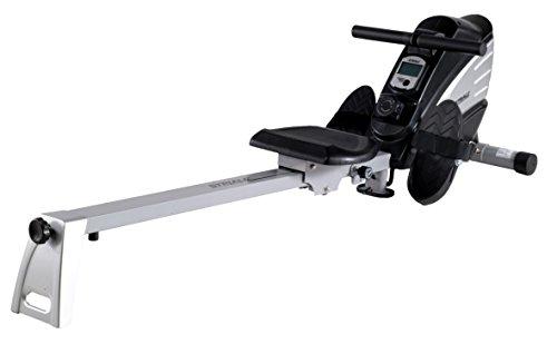Rameur SR-910 par STRIALE | Confort d'utilisation - Résistance magnétique | Compteur multifonction LCD