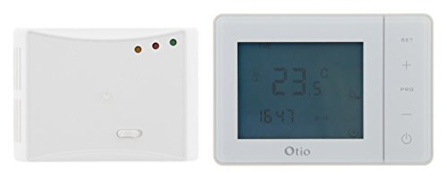 Otio - Thermostat programmable sans fil blanc