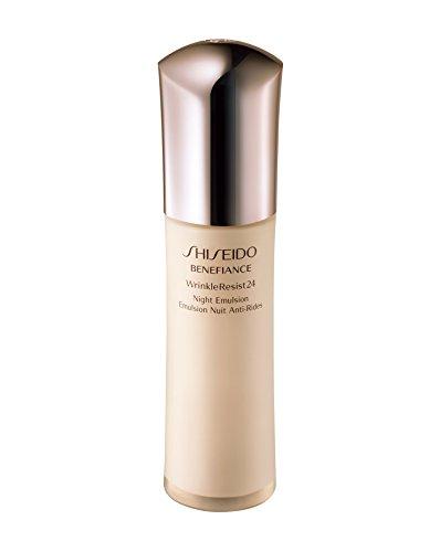 Shiseido Benefice Wrinkle Resist 24 Night Emulsion Moisturizers, 75ml