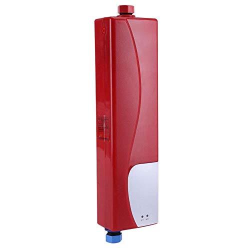 Fdit Chauffe-Eau instantané sans Réservoir électrique Mini avec la Soupape de Décharge pour Chaudière Unique la Cuisine de Salle de Bains de Rression 220V