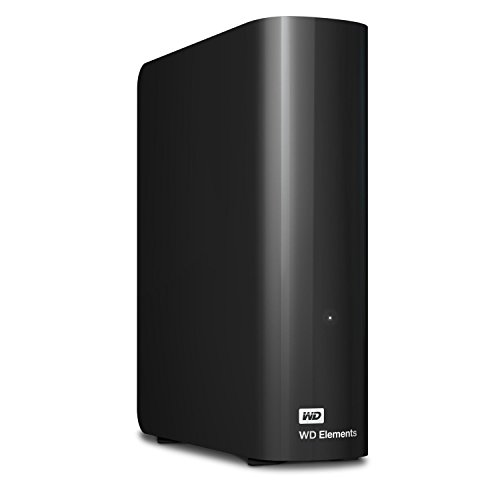 WD Elements Desktop 6TB - Hard Disk Esterno, USB 3.0