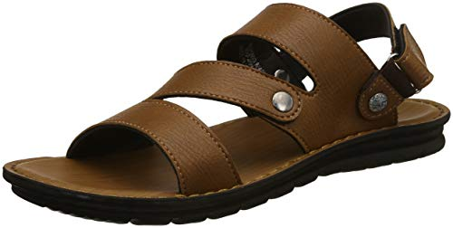 Bond Street by (Red Tape) Men's RSP069 Tan Sandals-8 UK/India (42 EU) (RSP0693-8)
