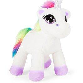 Michel Toys 10758 Peluche Unicorno dal Manto Morbido