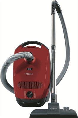 Miele Classic C1 Junior Ecoline Aspirapolvere, 550 watts, 4.5 litri, 78 decibels, Rosso Mango