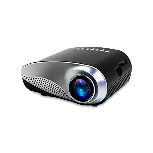 Eaxus Mini proiettore LED Dignity Di1024 con lettore multimediale e ricevitore DVB-T. Proiettore per Home Theatre, DVD, console di gioco e presentazioni. Supporta 1080p Full HD