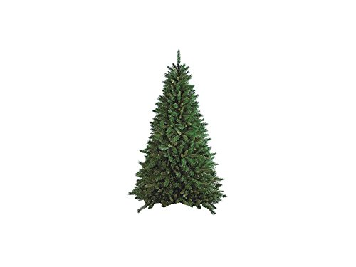 Flora New Tiffany Albero di Natale, Verde, 210 cm