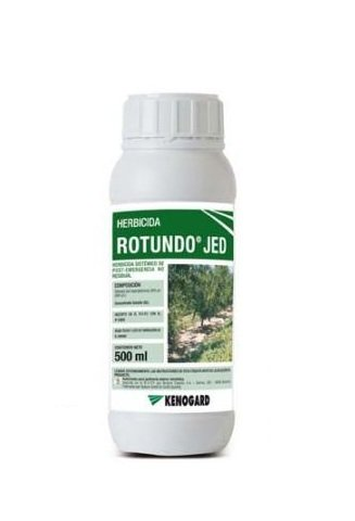Herbicida total sistémica no residual ROTUNDO TOP JED 500 ml.