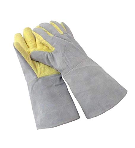 QIANCHENG-Gloves Guanti Resistenti alle Alte Temperature 500 Gradi Anti-Caldo Anti-Taglio Anti-Spina...