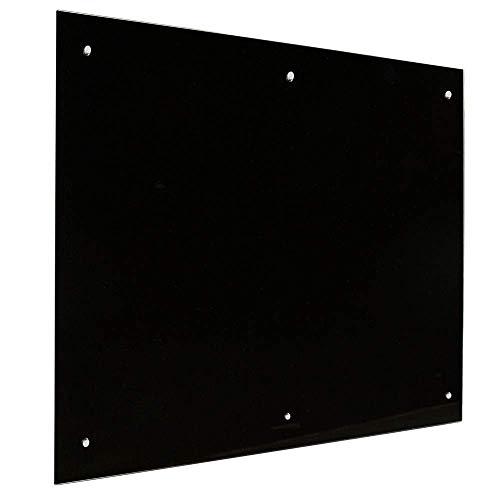 Lavagna in vetro 100x200 Nero