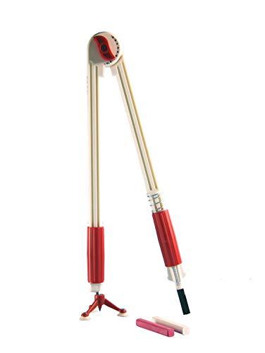Wissner - Tavola da Disegno Professionale con Compasso a 3 Piedi RE-Plastic, 60 cm